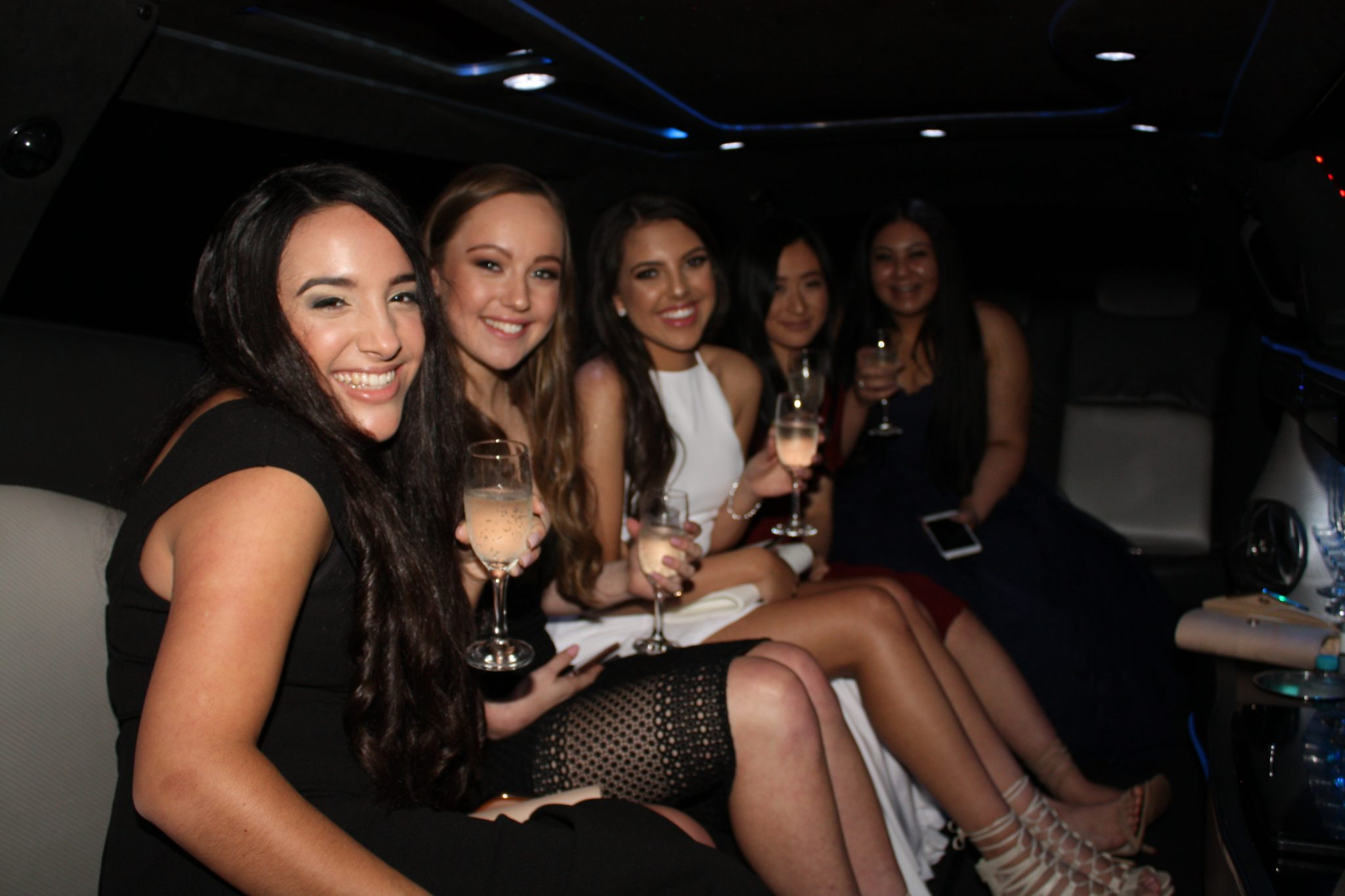 Hens night limo hire